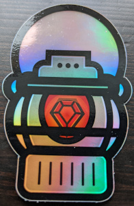 Metallic Brakeman Sticker